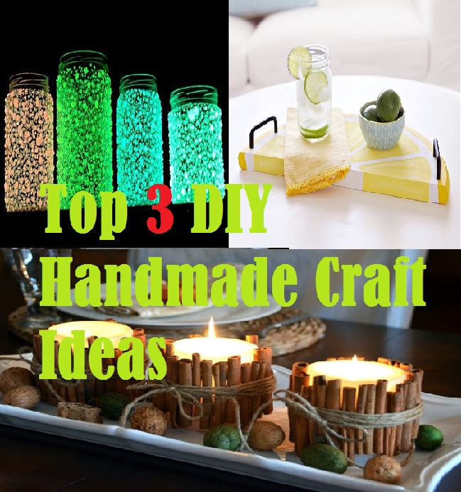 Top 3 Diy Handmade Craft Ideas For Home Decoration Sweethome 101