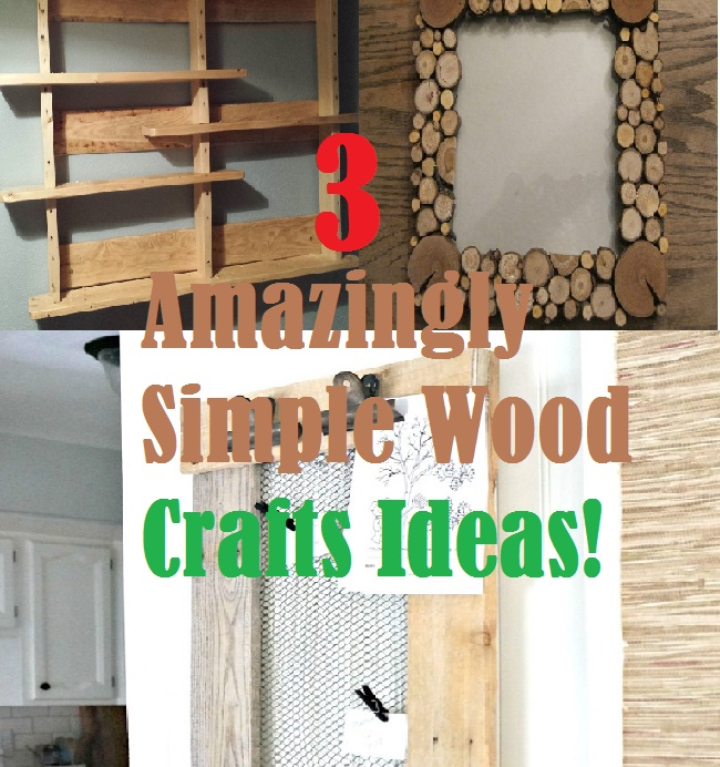 Fan Of Wood Crafts But Sick Of Lengthy Tutorials That Are Too